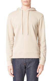 Men's A.p.c. Brook Hooded Sweatshirt, Size X-Large - Beige