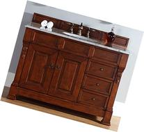 Brookfield 48 Warm Cherry Single Vanity with Drawers with