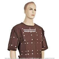 Small Brown Renaissance Brigandine Medieval Steel Plated
