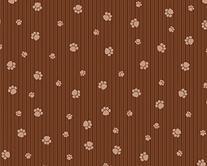 Drymate Brown & Tan Paw Print Cat Litter Box Mat
