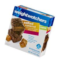Weight Watchers Brownie Bliss Mini Brownies Salted Caramel