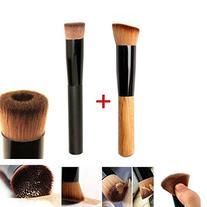 GYBest Best 2pcs Premium Brushes - Black Professional Face