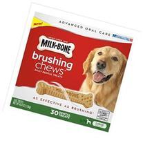 Milk-Bone Brushing Chews Daily Dental Treats, Large