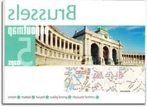Brussels, Belgium PopOut Map