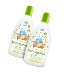 Babyganics Baby Bubble Bath, Fragrance Free, 20oz Bottle