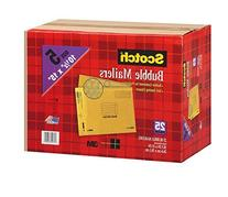 Scotch 3M Bubble Mailers Size 5  - 25ct