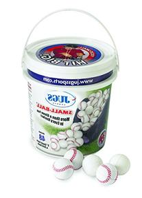 JUGS Small Balls 5'' Bucket of 48 Polyurethane-Foam ball 0.5