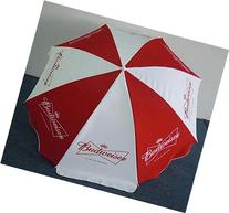 BUDWEISER BUD BEER LOGO LARGE BEACH STYLE UMBRELLA NEW