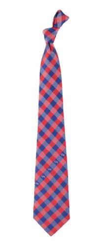 Eagles Wings Buffalo Bills NFL Check Poly Necktie