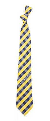Buffalo Sabres Check Polyester Neck Tie NHL Hockey Team Logo