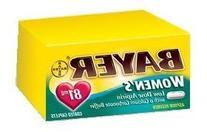 Bayer Buffered Aspirin Pain Reliever, Women's Plus Calcium,