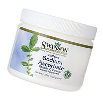 Swanson Buffered Sodium Ascorbate Vitamin C Powder 4.23 oz