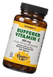 Country Life, buffered Vitamin C with Bioflavonoids 500