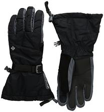 Columbia Men's Bugaboo Interchange Gloves, Black, Large