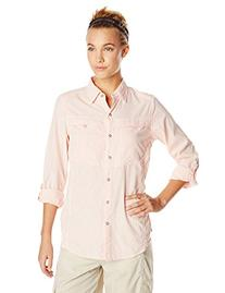 ExOfficio Women's Bugsaway Halo Check Long Sleeve Dazzle,