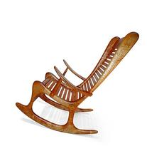 Build-Your-Own Curly Maple Rocker Plan - American Furniture