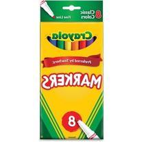 Crayola Fine Line Markers-Classic Colors 8/Pkg