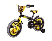 Transformers Boy's 16-Inch Bumble Bee Bike, Black/Yellow/