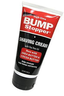High Time Bump Stopper Shaving Cream With Tea Tree Oil 5 oz