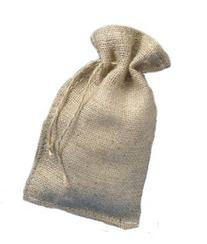 """6"""" X 10"""" Burlap Bags with Drawstring - Lot of 25"""