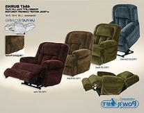 Catnapper Burns 4847 Power Lift Chair & Recliner - Vino