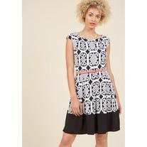 Business Brunch A-Line Dress