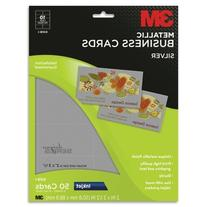 Wholesale CASE of 10 - 3M Micro-perf Metallic Business Cards
