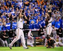 Buster Posey & Madison Bumgarner San Francisco Giants 2014