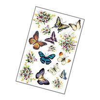 Butterflies And Flowers Garage Door Magnets Set
