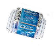 ACDelco C Super Alkaline Batteries in Recloseable Package, 8