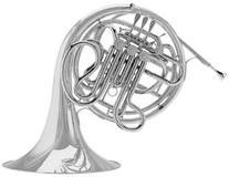 C.G. Conn Model 8DS Double French Horn, Silver-Plated