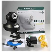 Esky C5900 H.264 Wireless IP Camera - Black