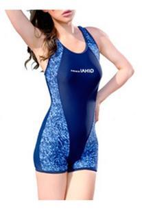 CA Fashion Women's One-piece Short Swimsuit Sport Swimming