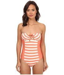 Ella Moss - Cabana One Piece Swimsuit X-Small Orange