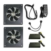 Cabcool 1201-2 Two-Single 120mm Kits with Thermal Control
