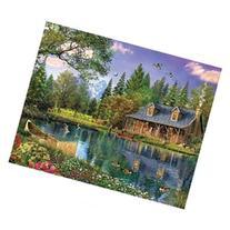 White Mountain Mountain Cabin Jigsaw Puzzle