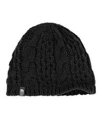 The North Face Women's Cable Minna Beanie Vintage White One