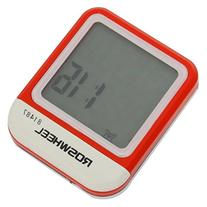 Cable Waterproof Odometer with 20 Function Red And White
