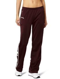 ASICS Women's Cabrillo Pant,Maroon/White,Small