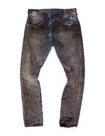 Prps Cache Five-Pocket Distressed Denim Pants-INDIGO-31X34