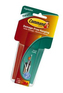 Command Small Caddy, Clear