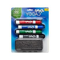 EXPO Low-Odor Dry Erase Set, Chisel Tip, Assorted Colors, 5-