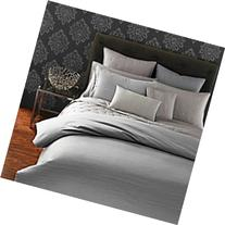 Oake Cadence Stone Grey KING Duvet Cover