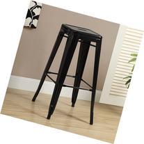 Cafe Barstool in Black - Set of 2