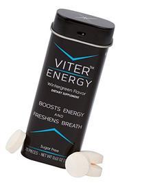 Caffeine Mints 40mg Caffeine & B-Vitamin Complex Per Mint.
