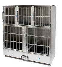 Groomer's Best 5-Unit Cage Bank