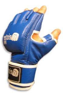 MMA Cage Gloves Blue - Medium