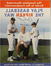 Cal Ripken Jr Hand Signed Autographed Book Play Baseball The
