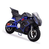 MotoTec Cali 36v Electric Pocket Bike Blue