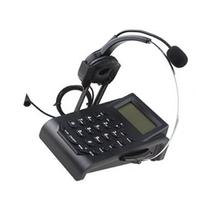 Call Center Dialpad Headset Telephone with PC Recording